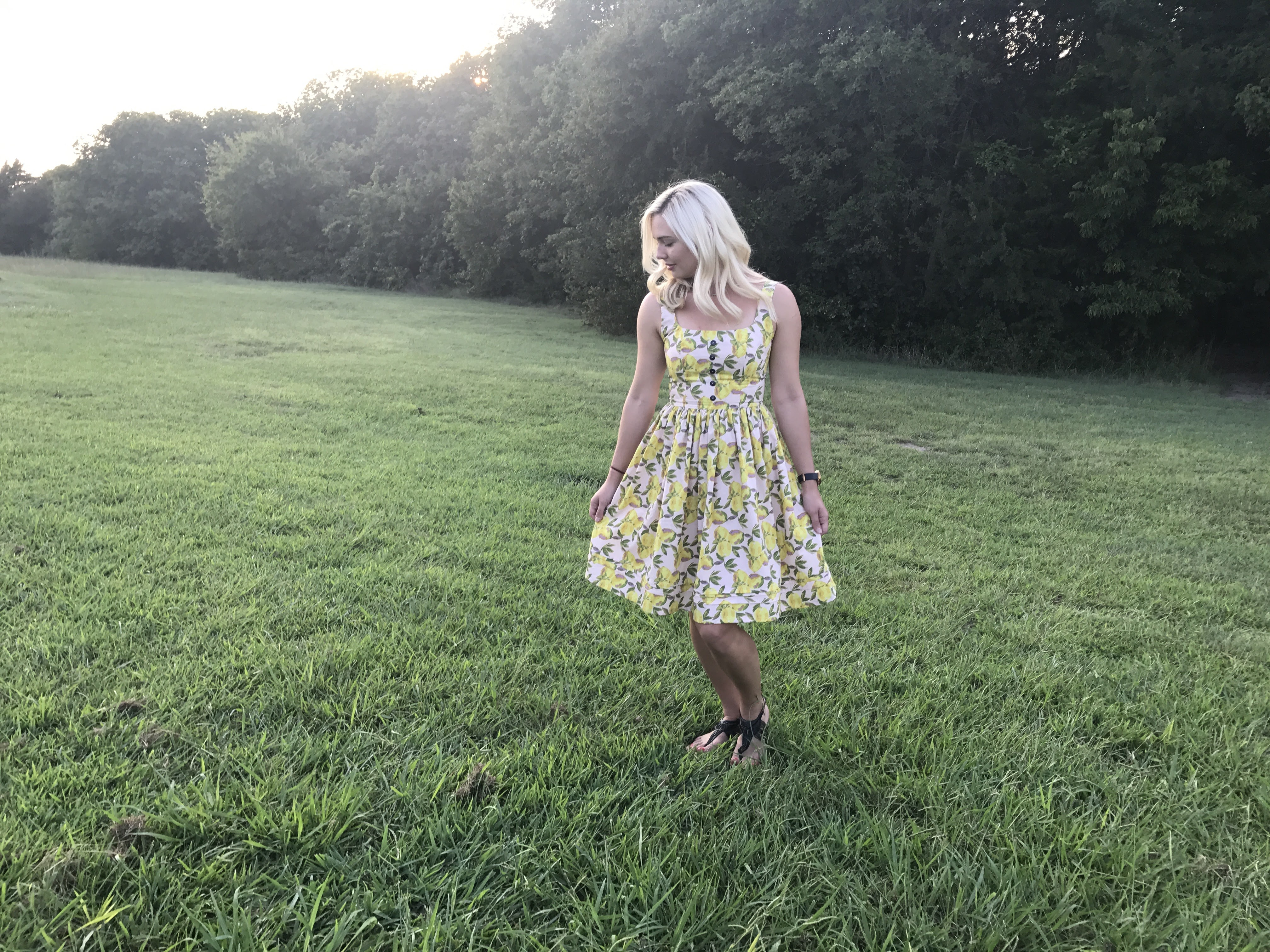sewing the By Hand London Kim Dress